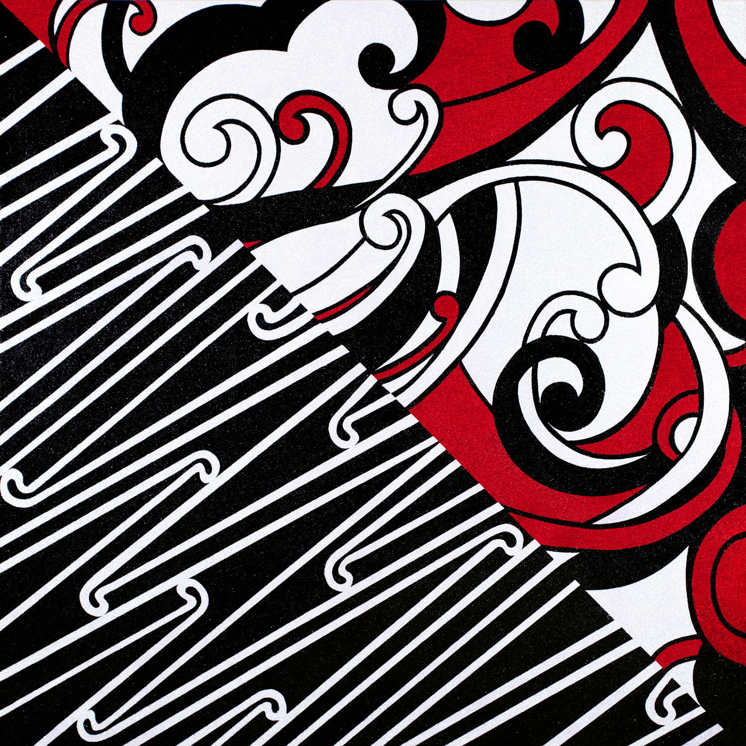 Whakapapa: get down upon your knees (detail), 2009
